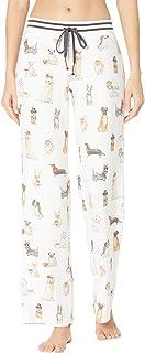 PJ Salvage 女式家居服咖啡 + 犬类长裤
