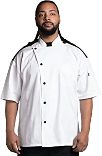 Uncommon Threads 中性款短袖 Rogue Pro Vent Chef 外套厨师夹克