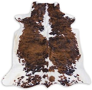 牛皮三色牛皮地毯 - XXL 6x8 英尺(180cm X240cm) TC6X8