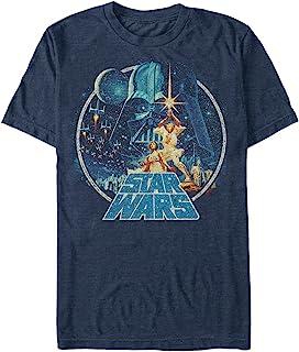 Star Wars 男式复古胜利图案 T 恤