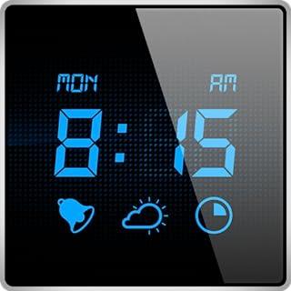 我的闹钟 - 被带有睡眠计时器和当前天气状况的数字闹钟应用唤醒