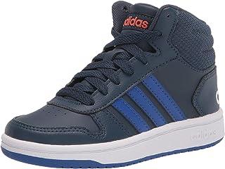 adidas 中性儿童 Hoops Mid 2.0 篮球鞋