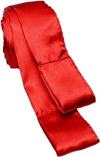 Greygasms Scarlet Red Satin Sashes, 2 Piece Set, 0.11 Pound