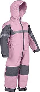 OAKI 防雨和越野套装 - 儿童和幼儿 - 女孩和男孩连体防雨夹克和裤子, 紫色(Lavender), 14-15