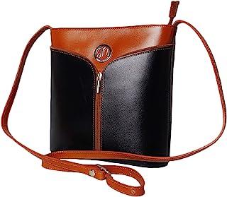 JAENIS NICHOLE - 女士真皮斜挎包,真正的意大利钱包和手提包,单肩钱包