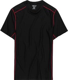 ExOfficio 男式 Give-n-Go 运动网眼内衣圆领 T 恤
