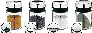WMF 福腾宝6615860404件装 作料瓶撒粉罐套装
