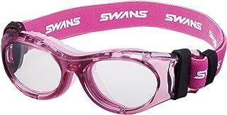 SWANS 护目镜 SVS-700N 6岁~10岁 透明粉色×透明 运动眼镜框