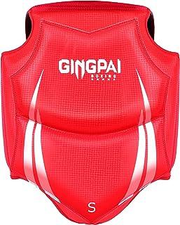 GINGPAI BOXING 护身符胸部护具跆拳道武术泰拳综合格斗护甲