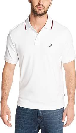 Nautica 男士经典双尖领短袖Polo衫