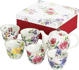 陶瓷 玫瑰吉祥 5 客壶 茶具 3888 尺寸:约w26 d23 h10 厘米