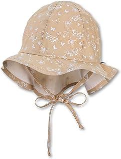 Sterntaler 女童翻盖,带绑带,颈部保护和小型蝴蝶