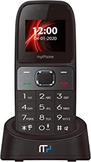 myPhone SOHO Line H31 GSM 3G 桌面电话,适用于办公室和家里,带彩色显示屏,免提,双存储卡,大屏幕,无接电话,无绳电话,带充电站