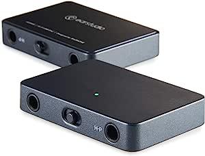 EarStudio HUD100 MK2 Hi-Fi USB DAC / 紧凑,高功率(3.20Vp),抖动弹性,PCM 32bit 384kHz,DSD128