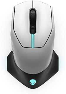 Alienware 610M 有線/無線游戲鼠標 - AW610M(月光)