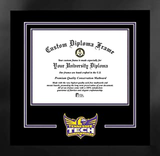 校园图像 NCAA 中性款精神文凭曼哈顿黑框附赠版画(超值优惠 59 美元)