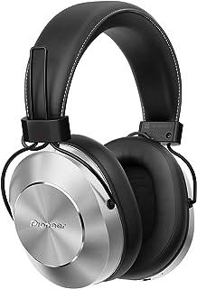 Pioneer 铝制外壳带皮革耳机SE-MS7BT-S E