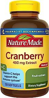 Nature Made 超强蔓越莓+维生素C软胶囊 60粒,2件装