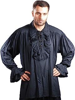 中世纪诗海盗船长查尔斯·范娜角色扮演服装衬衫 C1006
