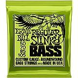 Ernie Ball 常规 Slinky 镍缠绕低音套装,.050 - .105