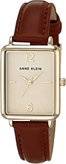 Anne Klein Women's Vegan Leather Watch