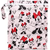 Bumkins Disney Baby Zippered Wet Bag, Minnie Mouse Classic