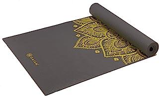 """Gaiam 瑜伽垫 - 高级 6mm 印花超厚防滑锻炼和健身垫,适用于各种类型的瑜伽、普拉提和地板锻炼(68"""" x 24"""" x 6mm)"""