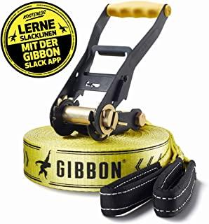 gibbon 松驰 lines Classic LINE x13,带单 ratchet and 保护–黄色,49inchp