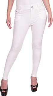 女式弹力棉质打底裤加大码