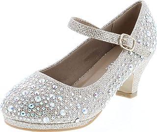 Titan Mall Forever 儿童 Dana-58k Mary Jane 正装高跟鞋