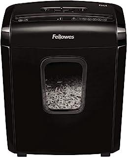 Fellowes 范罗士 Powershred 6M 6 张 迷你切割(P-4) 碎纸机 带**锁 适用于家庭和家庭办公室 4631101