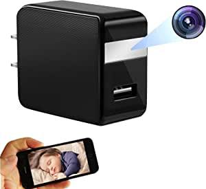 FR.Tooc 1080P 充电插头摄像头,远程高清网络摄像头,支持WiFi,操作简单,记录家庭幸福时刻,关注宝宝动态,工作生活记录器