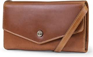 Timberland 添柏岚 女式 RFID 皮革钱包手机包,带可拆卸斜挎肩带