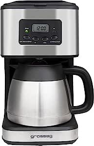 grossag KA 47.17 咖啡机 带定时器和保温壶 可制作 8 杯咖啡 1.2 升 900 W