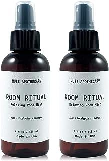 Muse Bath Apothecary Room Ritual - 芳香和放松房间喷雾,4盎司(113克),含有天然精油