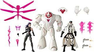 Marvel Classic 孩之宝 漫威传奇系列,X-Men 6英寸可收藏动作人偶Psylock、Nimrod和Fantomex Toys(亚马逊专属)