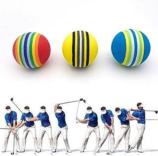 JKL EVA 高尔夫球,Caiyun & Rainbow 泡沫练习球,室内外高尔夫运动训练软球,弹性海绵彩色高尔夫球,高尔夫配件