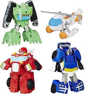 Playskool Heroes 变形金刚 救援机器人 Griffin Rock 救援队伍