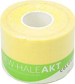 New-HALE 胶带 卷型 肘部 膝盖 关节 肌肉 支撑 AKT Colors 黄色 (5cm×5m) 731579