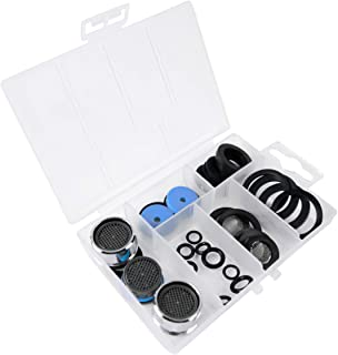 Werkzeyt 密封品种 32 件 – 适用于所有用途的实用备件 – 非常适合家庭、花园和卫生区域/备件套装带密封圈&气泡器 / ZYT148