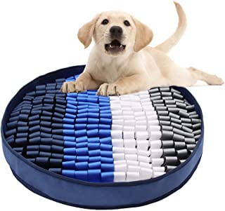 RENNAIO 宠物狗鼻垫, Interactive Feeded Game for Boredom,鼓励猫狗的天然觅食技能,旅行使用,狗狗*分配器,室内户外*