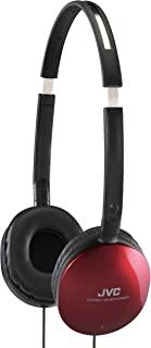 JVC iPhone 和 iPod 兼容轻型耳机 - 红色
