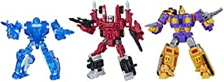 Transformers Toys 变形金刚玩具 Cybertron 豪华粉丝投票之战开战,汽车人阿尔法特 3 件装,包括Holo Mirage,Powerdasher Aragon和Decepticon Impactor,棕色