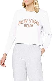 ONLY 女士 Onllydia Life Reg L/S New York Box SWT 毛衣