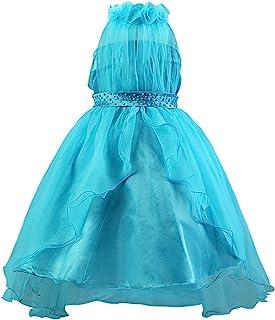 "Katara Veil ""花童节日""晚礼服 3 years to 4 years Festive girl dress Manufacturer Size: 110 蓝色"