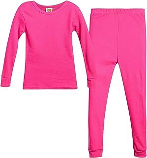 Sweet & Sassy 女童保暖内衣上衣和裤子两件套