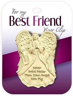 Angelstar 2-1/4 英寸高家庭帽舌夹,好朋友情绪