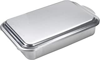 Nordic Ware 经典天然铝商业金属覆盖蛋糕盘