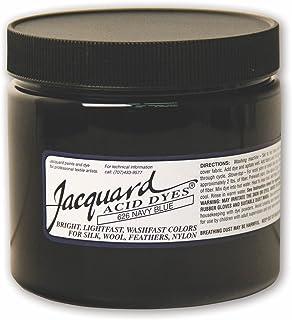 用于羊毛、丝绸和其他蛋白质纤维的提花酸染料,8盎司罐装,浓缩粉,*蓝 626