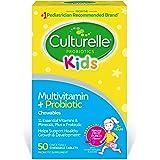 Culturelle 康萃乐 完整的儿童复合维生素,包含益生元的咀嚼片,儿童每日膳食补充剂| 有益于吸收和机体系统…
